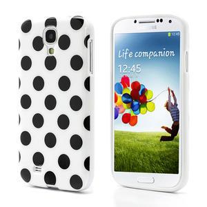 Gélové Puntík puzdro pre Samsung Galaxy S4 i9500- biele - 1