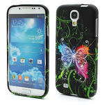 Gélové puzdro pro Samsung Galaxy S4 i9500- farebný motýl - 1/5