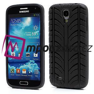 Gelové PNEU pouzdro pro Samsung Galaxy S4 i9500- černé - 1