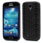 Gelové PNEU pouzdro pro Samsung Galaxy S4 i9500- černé - 1/6