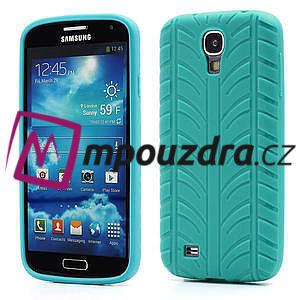 Gélové PNEU puzdro pro Samsung Galaxy S4 i9500- zelené - 1