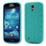 Gélové PNEU puzdro pro Samsung Galaxy S4 i9500- zelené - 1/7