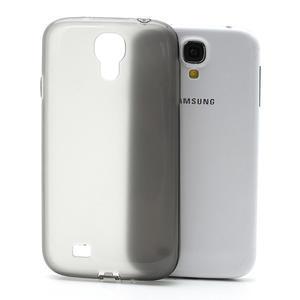 Gélové slim puzdro na Samsung Galaxy S4 i9500- šedé - 1