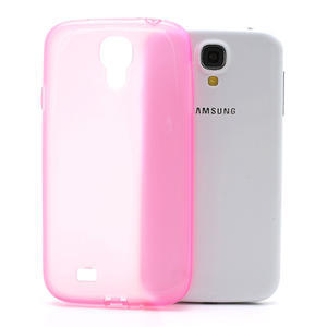 Gélové slim puzdro na Samsung Galaxy S4 i9500- růžové - 1