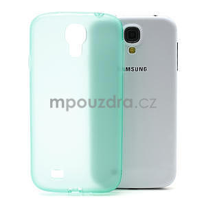 Gélové slim puzdro na Samsung Galaxy S4 i9500- zelené - 1