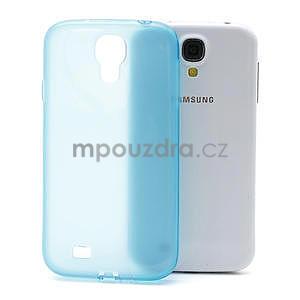 Gélové slim puzdro na Samsung Galaxy S4 i9500- modré - 1