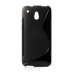 Gélové S-line puzdro pre HTC one Mini M4- čierné - 1