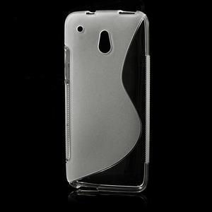 Gélové S-line puzdro pre HTC one Mini M4- transparentný - 1