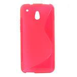 Gélové S-line puzdro pre HTC one Mini M4- růžové - 1/3