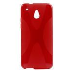 Gélové X-line puzdro pre HTC one Mini M4- červené - 1/3