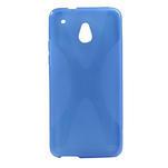 Gélové X-line puzdro pre HTC one Mini M4- modré - 1/4