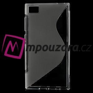Gélové S-line puzdro na Xiaomi Mi3- transparentný - 1