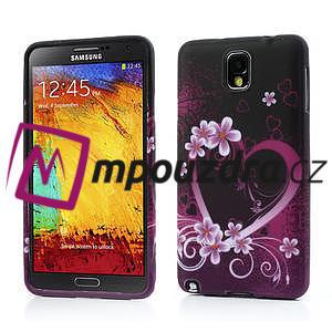 Gélové puzdro na Samsung Galaxy Note 3- srdce - 1