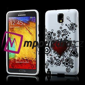 Gélové puzdro na Samsung Galaxy Note 3- horké srdce - 1