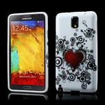 Gélové puzdro na Samsung Galaxy Note 3- horké srdce - 1/6