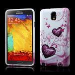 Gélové puzdro pre Samsung Galaxy Note 3- dve srdca - 1/6