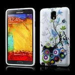 Gélové puzdro na Samsung Galaxy Note 3- květiny - 1/6