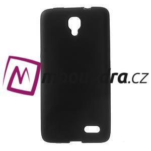 Gélové puzdro pre Alcatel One Touch Idol OT-6030D- čierné