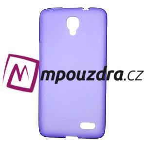 Gélové puzdro na Alcatel One Touch Idol OT-6030D- fialové
