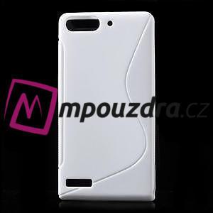 Gélové S-line puzdro na Huawei Ascend G6 - biele - 1