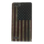 Gélové puzdro na Huawei Ascend G6 - USA vlajka - 1/7