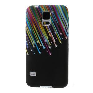 Gélové puzdro pre Samsung Galaxy S5- meteor - 1