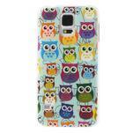 Gélové puzdro pre Samsung Galaxy S5 sovy - 1/3