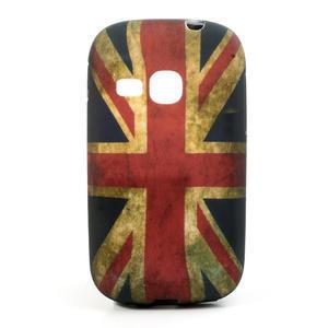 Gélové puzdro pre Samsung Galaxy Young S6310- UK vlajka - 1