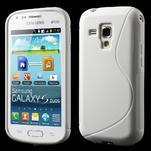 Gélové S-line puzdro pre Samsung Trend plus, S duos- biele - 1/5