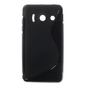 Gélové S-line puzdro na Huawei Ascend Y300- čierné
