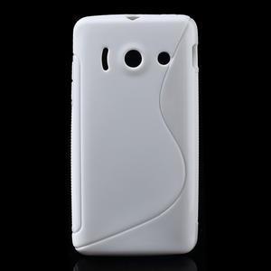 Gélové S-line puzdro na Huawei Ascend Y300- biele