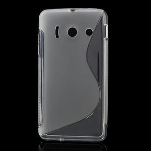 Gélové S-line puzdro na Huawei Ascend Y300- transparentný