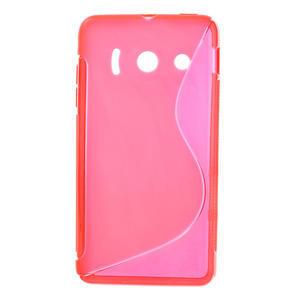 Gélové S-line puzdro na Huawei Ascend Y300- růžové