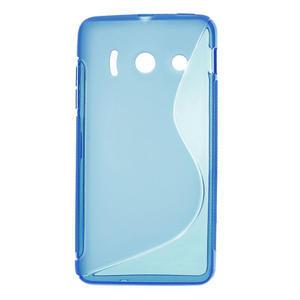 Gélové S-line puzdro na Huawei Ascend Y300- modré