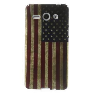 Gélové puzdro na Huawei Ascend Y530- USA vlajka