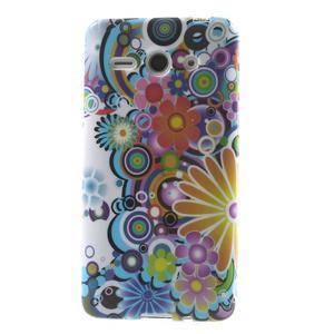 Gélové puzdro na Huawei Ascend Y530- farebné květy