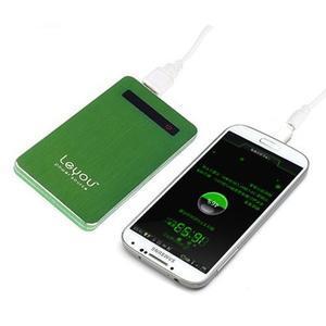 Slim GX externí nabíjačka PoweBank 5 000 mAh - zelená - 1
