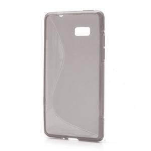 Gélové S-line puzdro pre HTC Desire 600- šedé - 1