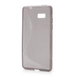 Gélové S-line puzdro pre HTC Desire 600- šedé - 1/6