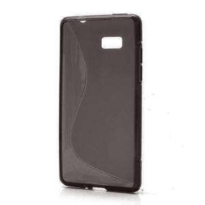 Gélové S-line puzdro pre HTC Desire 600- čierné - 1