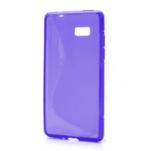 Gélové S-line puzdro pre HTC Desire 600- fialové - 1/6