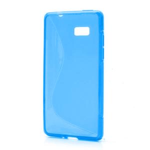 Gélové S-line puzdro pre HTC Desire 600- modré - 1
