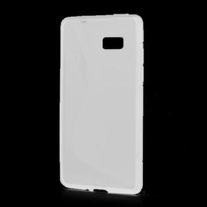 Gélové S-line puzdro pre HTC Desire 600- biele - 1