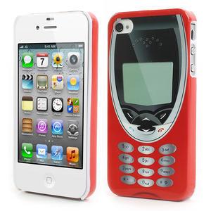 Telefon plastové puzdro na iPhone 4 4S - 1