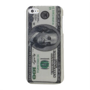 Plastové puzdro pre iPhone 5, 5s- 100 Dolar - 1
