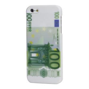 Plastové puzdro pre iPhone 5, 5s- 100 Eurovka - 1