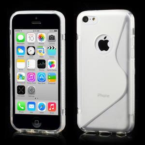 Gélové S-line puzdro pre iPhone 5C- transparentný - 1