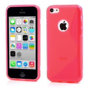 Gélové S-line puzdro pre iPhone 5C- růžové - 1