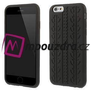 silikónové pneu na iPhone 6, 4.7 - čierné - 1