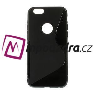 Gélové S-line puzdro na iPhone 6, 4.7 - čierné - 1
